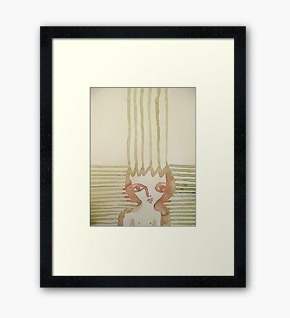 health rays Framed Print