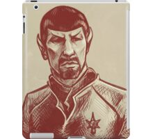 Mirror Spock iPad Case/Skin