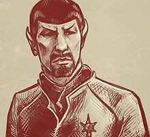 Mirror Spock by quintotriticale