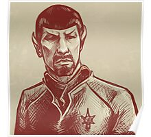 Mirror Spock Poster