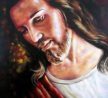 Jesus and Mary Paintings by Tahnja