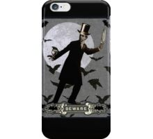 The Murderous Count iPhone Case/Skin