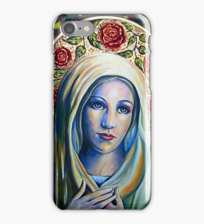Holy Love of Mary iPhone Case/Skin
