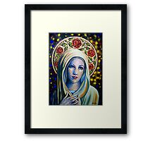 Holy Love of Mary Framed Print