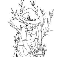 Wood Witch by tonelokeart