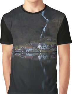 River that vanishes Graphic T-Shirt