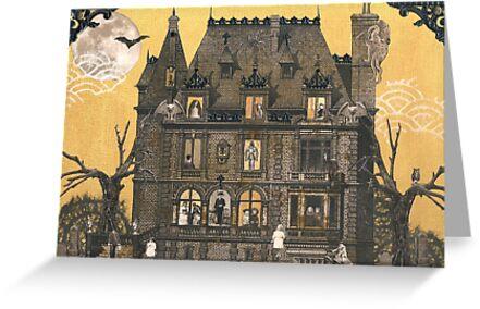 Moribund Manor - Haunted House by WinonaCookie