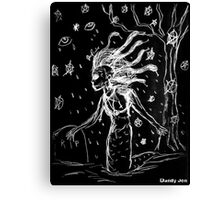 Death Rock Medusa Canvas Print