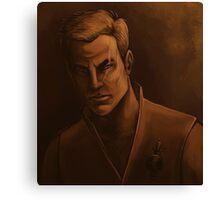 Mirror Jim Kirk Canvas Print