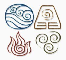Avatar Bending Symbols by strike class