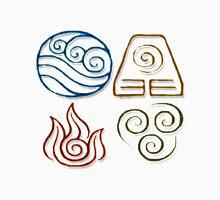 Avatar Bending Symbols Unisex T-Shirt