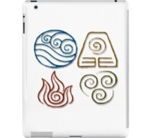 Avatar Bending Symbols iPad Case/Skin