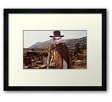 The Good, The Bad, The Frozen Framed Print