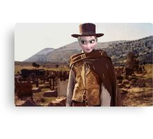 The Good, The Bad, The Frozen Canvas Print