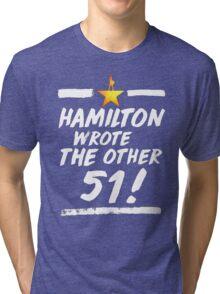 Hamilton other 51 Tri-blend T-Shirt