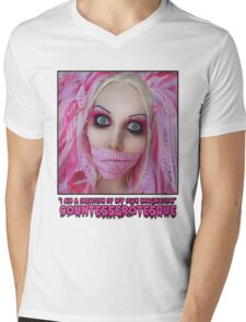 Pink Dolly | CountessGrotesque Mens V-Neck T-Shirt
