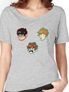 Team Lads Stickers Women's Relaxed Fit T-Shirt