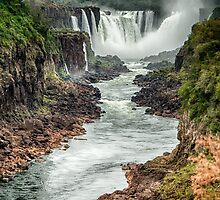 Iguaza Falls - No. 6  by photograham