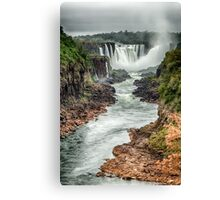 Iguaza Falls - No. 6  Canvas Print