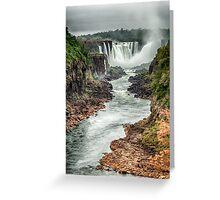Iguaza Falls - No. 6  Greeting Card