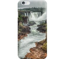 Iguaza Falls - No. 6  iPhone Case/Skin
