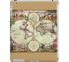 World Map 1665 iPad Case/Skin
