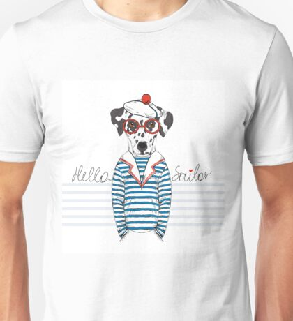 Hello Sailor Unisex T-Shirt