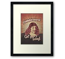 Rene Descartes Framed Print