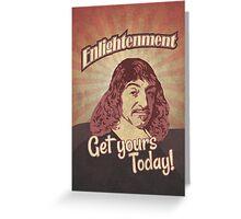 Rene Descartes Greeting Card