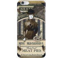 Mrs. Macabre's Meatpies iPhone Case/Skin