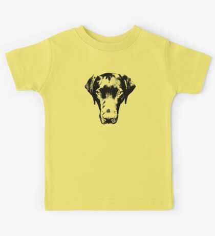 Black Labrador Kids Tee