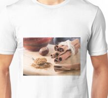 Ingredients for cooking in the kitchen Unisex T-Shirt