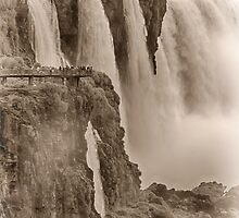 Iguaza Falls - No. 7 - Antique Sepia by photograham