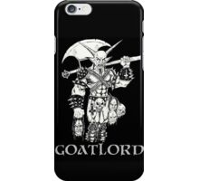 Goat Lord Censorship iPhone Case/Skin