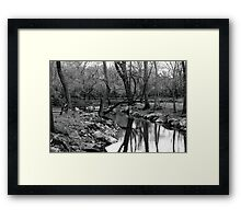 Still Water Runs Deep Framed Print