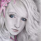 My Pink Rose by Tahnja