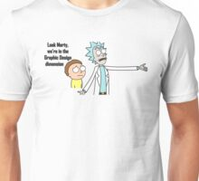 Rick and Morty - Graphic Design Dimension Unisex T-Shirt