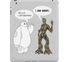 Baymax and Groot iPad Case/Skin