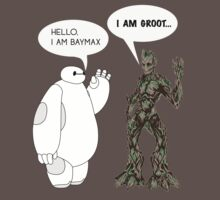 Baymax and Groot Kids Clothes