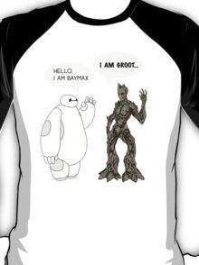 Baymax and Groot T-Shirt