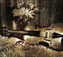 Vintage Violin by Nadya Johnson