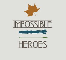 Impossible Heroes Womens Fitted T-Shirt