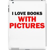 I LOVE BOOKS iPad Case/Skin