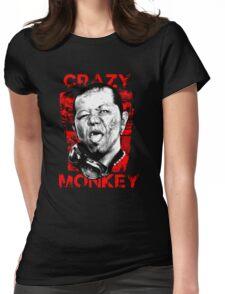 Jun Kasai - Crazy Monkey Womens Fitted T-Shirt