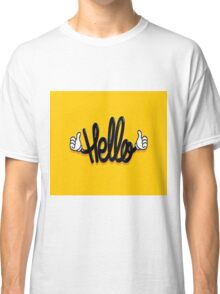 say hello  Classic T-Shirt
