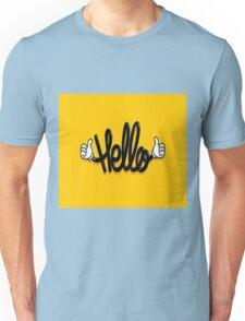 say hello  Unisex T-Shirt