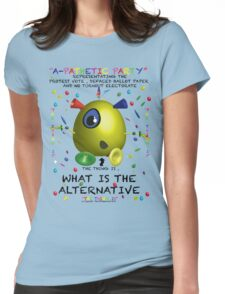 A-Pathetic Party - What is the alternative Womens Fitted T-Shirt