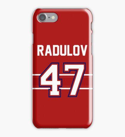 Alexander Radulov - Montreal Canadiens iPhone Case/Skin
