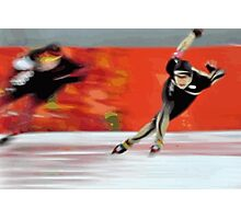 Skaters Photographic Print