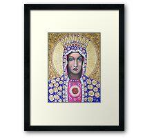 The Black Madonna Framed Print